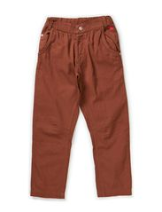 TOR BOY PANT - Tobacco brown