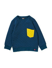 Quilt boy sweat - Moroccan Blue