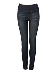 Pieces FUNKY HIGHWAIST LEGGINGS/DARK DENIM 11