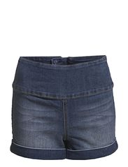 Pieces FUNKY HIGHWAIST SHORTS/DENIM