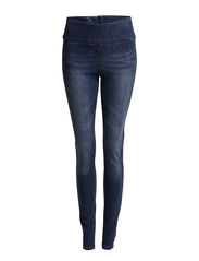 FUNKY HIGHWAIST LEGGINGS/DENIM 11 - DENIM BLUE.