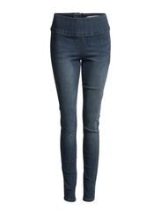 FUNKY HIGHWAIST LEGGINGS/DENIM 11 - Light Blue Denim