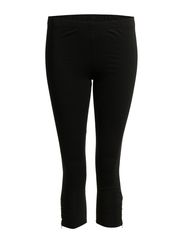 MESELLA ZIP LEGGING/12 - Black