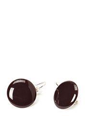 JIEBE FISHHOOK EARRING - Wine Red