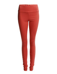 Pieces FUNKY HIGHWAIST LEGGING/DARK CORAL