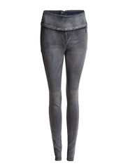 Pieces FUNKY FAIR HIGHWAIST LEGGING/BLUE WASH