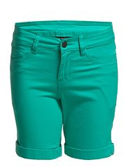 Pieces FUNKY FIVE SHORTS/BERMUDA GREEN