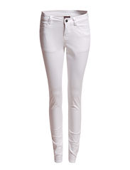 Pieces FUNKY FIVE LEGGING/WHITE