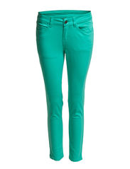 Pieces FUNKY FIVE 7/8 LEGGING/BERMUDA GREEN