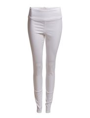 Pieces FUNKY FEVER HIGHWAIST LEGGING/WHITE
