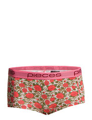 Pieces LOGO LADY BOXERS/PRINT APRIL 13 ROSE