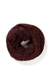 EMILIE TUBE SCARF - Wine Red