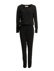 DIRO LS JUMPSUIT - Black