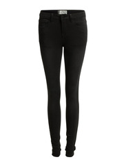 JUST JUTE WASHED R.M.W. LEGGING/BLACK - Black