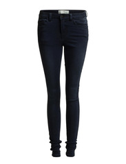 JUST JUTE WASHED R.M.W LEGGING/DARK BLUE - Dark Blue Denim