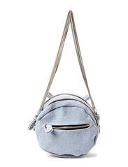 FEDINA CANVAS CROSS OVER BAG - Washed Blue