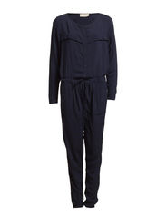 AGNES LS LONG JUMPSUIT BOX - Midnight Blue