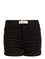 JUST JUTE R.M.W. SHORTS/BLACK - Black