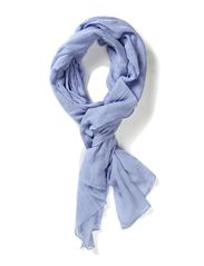SALLY LONG SCARF - Clear Blue