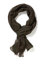 SALLY LONG SCARF - Safari Green