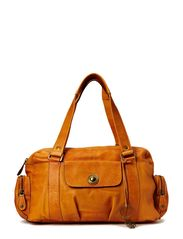 TOTALLY ROYAL LEATHER SMALL BAG13 - Cognac