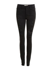 FUNKY SISAL WORN R.M.W. LEGGING/WASH BLK - Black