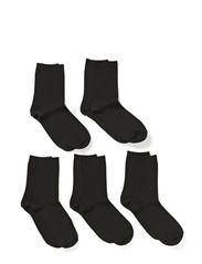 EMMY 5 PACK SOCKS - Black