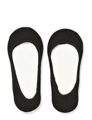 JEANNETTE 2 PACK FOOTIES - Black