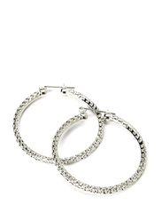 LUISA EARRINGS - Silver Colour