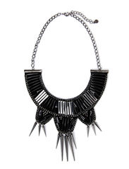 LAMIA NECKLACE - Black