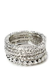 LUMPA RINGS - Silver Colour