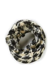 KOOTH TUBE SCARF - Black