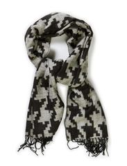 KASER LONG SCARF - Black