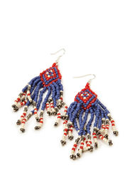 ORLANDA EARRINGS - Royal Blue