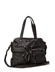 MUI LEATHER BAG - Black