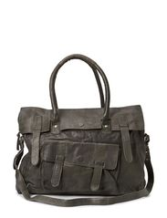 MAIKE LEATHER TRAVEL BAG - Castlerock