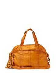 MYLISIA LEATHER BAG - Cognac
