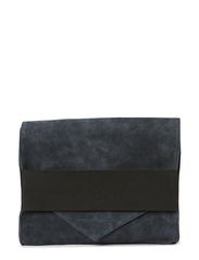 MEIRA SUEDE CLUTCH - Dress Blues
