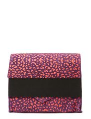 MEIRA SUEDE CLUTCH LEO - Hot Pink