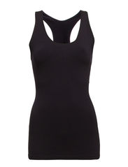 IMAGINE SHAPEWEAR BOXER TOP - Black
