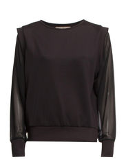 MILLI LS TOP - Black