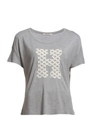 MINNA T-SHIRT - Light Grey Melange