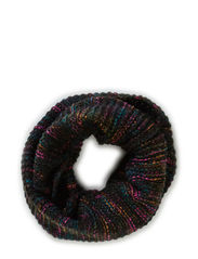 MALIA TUBE SCARF - Black
