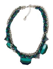MANILLO  NECKLACE - Dark Denim