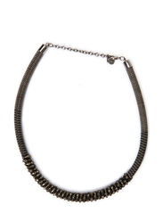 MISI NECKLACE - Gunmetal