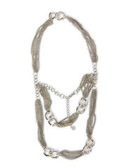 MELBA NECKLACE - Silver Colour