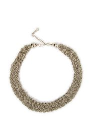 ELAMI THIN NECKLACE - Silver Colour