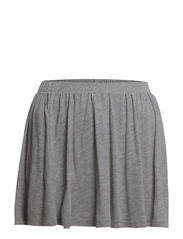 DEA SKIRT BOX - Light Grey Melange
