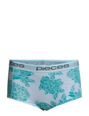 LOGO LADY BOXERS 14-028 FLORAL - Cool Blue