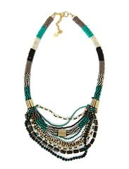 GOLAFI NECKLACE EXP - Viridian Green